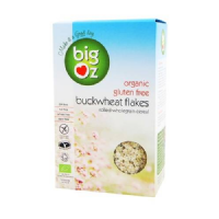 Big Oz Organic Buckwheat Flakes 500g